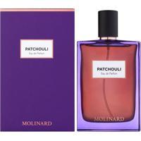 Molinard Patchouli De Molinard Eau Parfum Feminino 75 Ml