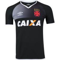 Camisa De Goleiro Do Vasco Da Gama 2017 Nº 1 Umbro - Masculina - Preto  57d9fee2608f7