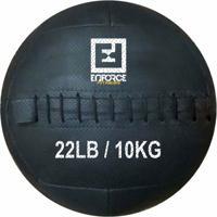 Wall Ball Medicine Ball Bola De Couro 10Kg P/ Crossfit, Treinamento Funcional - Enforce Fitness - Unissex