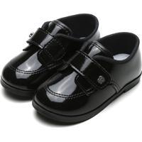 Sapato Pimpolho Infantil Verniz Preto