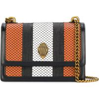 Kurt Geiger London Woven Striped Shoulder Bag - Laranja