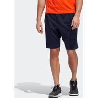 Shorts Fitness E Funcional Adidas 4Krft Azul