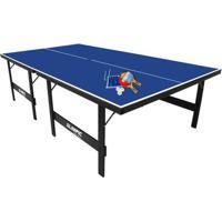 Mesa Oficial Para Tenis De Mesa Com Kit Completo - Unissex
