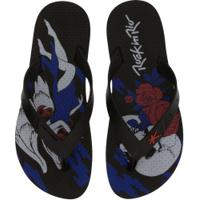 Chinelo Kenner Summer Devil And Angel - Masculino - Preto/Azul