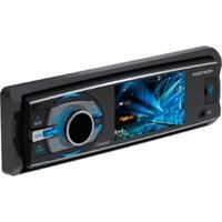 Dvd Player Automotivo, Pósitron, Dvd Sp4330 Bt, Preto/Cromo