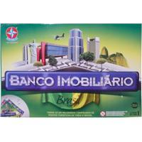 Jogo Banco Imobiliário Brasil Estrela - Unissex-Incolor