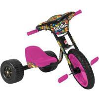 Triciclo Infantil Velotrol 235 - Unissex-Preto