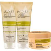 Kit De Shampoo & Condicionador + Mã¡Scara Volume- Jacquesjacques Janine