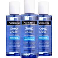 Kit Com 3 Demaquilante Neutrogena Deep Clean 117Ml - Kanui
