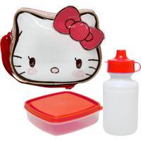 Lancheira Xeryus Hello Kitty Rosa