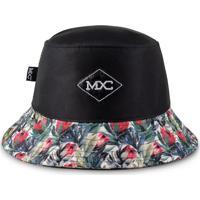 Chapéu Bucket Mxc – Black & Flowers Preto