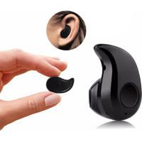 Mini Fone De Ouvido Bluetooth Preto