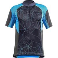 Camisa Ciclista Poker Com Zíper Dare 04188 Masculina - Masculino