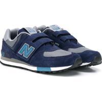 New Balance Kids 574 Core Sneakers - Azul