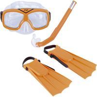 Netshoes  Kit Infantil De Mergulho E Snorkel Nautika Divers - Unissex 5e8cd56ec0
