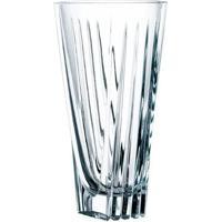 Vaso Decorativo 24Cm De Cristalin Transparente - Nachtmann