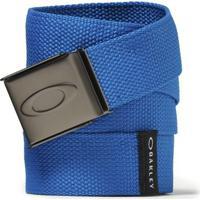 Cinto Oakley Ellipse Web Belt Masculino - Masculino-Azul