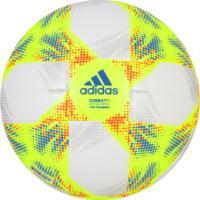 Bola De Futebol De Campo Adidas Conext19 Top Training - Branco/Verde Cla