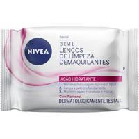 Lenços De Limpeza Demaquilantes Nivea 3 Em 1 Ação Hidratante 25Un - Unissex