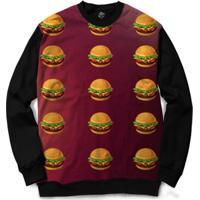 Blusa Bsc Hamburger Full Print - Masculino