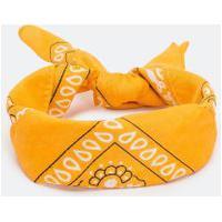 Bandana Estampa Paisley | Accessories | Amarelo | U