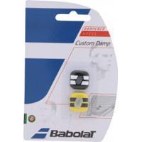 Anti - Vibrador Babolat Custom Damp - Preto/Amarelo