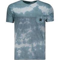 Camiseta O'Neill Stripe Dye Especial Masculina - Masculino-Verde