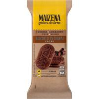 Biscoito Integral Maizena Cacau 25G Cookies Integrais Maizena Cacau 30G