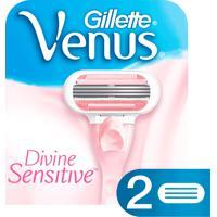 Carga Gillette Venus Divine Sensitive Com 2 Unidades