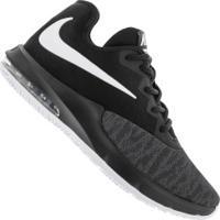 Tênis Nike Air Max Infuriate Iii Low - Masculino - Preto/Branco