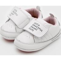 Tênis Lilica Ripilica Infantil Velcro Branco