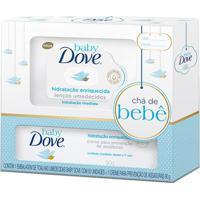 Kit Dove Baby Hidratação Enriquecida Lenço Umedecido + Creme Contra Assadura 90G