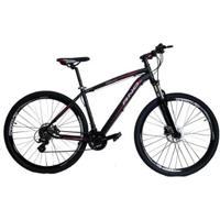 Bicicleta Aro 29 Rino - Shimano Altus - Freio A Disco Hidraulico 24 Marchas + Trava - Unissex