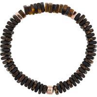 Tateossian Legno Silver Bracelet - Marrom