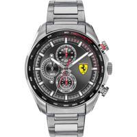 Relógio Scuderia Ferrari Masculino Aço - 830652