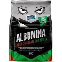 Albumina Desidratada 500G - Proteina Pura - Unissex-Chocolate+Menta