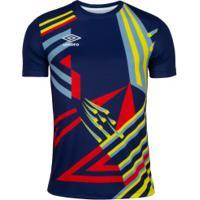 Camisa Umbro Twr Manchester 92 - Masculina - Azul Escuro