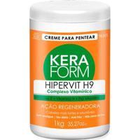 Creme Para Pentear Skafe Keraform Hipervit H9 - 1Kg - Unissex