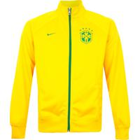Jaqueta Nike Cbf Core Trainer Amarela