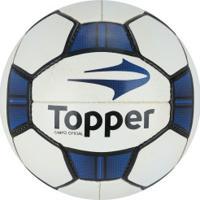 Bola De Futebol De Campo Topper Maestro Ii - Branco Azul 168438f038fbe