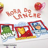Jogo De Toalhas De Lancheira Avengersâ®- Branco & Vermelhlepper