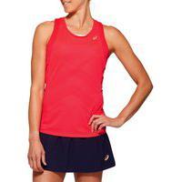 Camiseta Regata Asics Tennis - Rosa - Feminino
