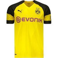 Camisa Puma Borussia Dortmund Home 2019 N°11 Reus Masculina - Masculino