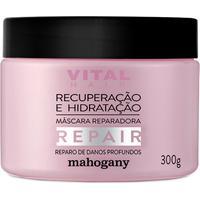 Máscara Repair Recuperação E Hidratação 300 G Mahogany