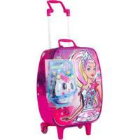 Carrinho Grande Barbie Aventura Nas Estrelas Infantil Sestini - Feminino-Rosa
