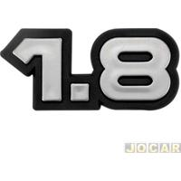 """Letreiro - Alternativo - Monza 1982 Até 1991 - """"1.8"""" - Cola - Cada (Unidade)"""
