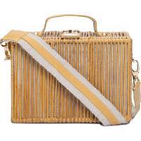 Bolsa Maleta Bambu Tai Dai - Bege