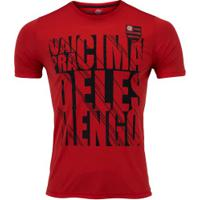 Camiseta Do Flamengo Know 19 - Masculina - Vermelho