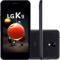 """Smartphone Lg K9 Com Tv Digital Preto 16Gb Tela 5"""""""" Dual Chip Camera"""
