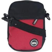 Bolsa Shoulder Bag Chronic - Unissex-Vermelho+Preto